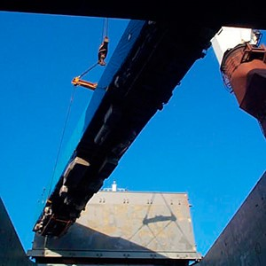 Spliethoff - General cargo in hold - machinery