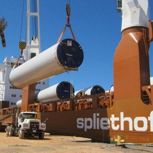 Spliethoff - General cargo - windmills (1)