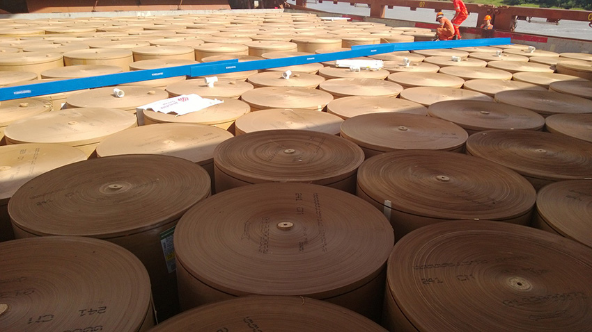 Spliethoff - Forest products - paper reels