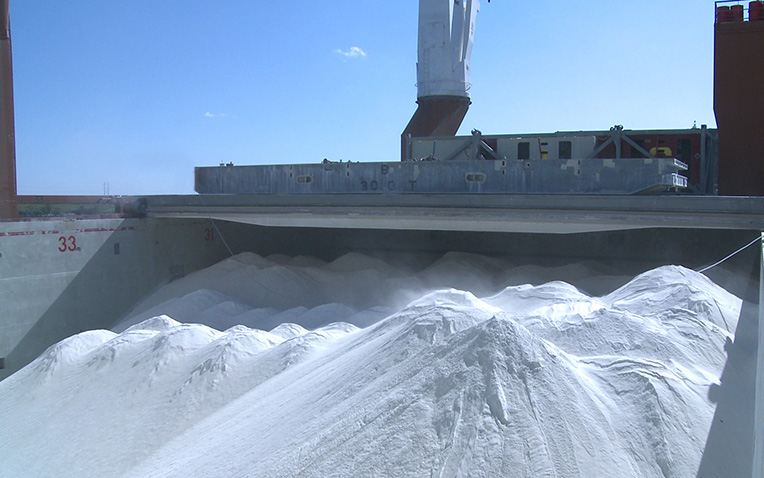 Spliethoff - Bulk cargo - China clay (1)