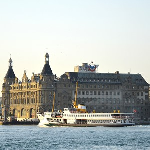 Spliethoff - Turkey - Istanbul - Haydarpasa train station